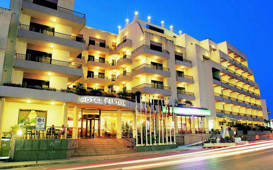 Málta - Máltai üdülés 2018.  Santana Hotel