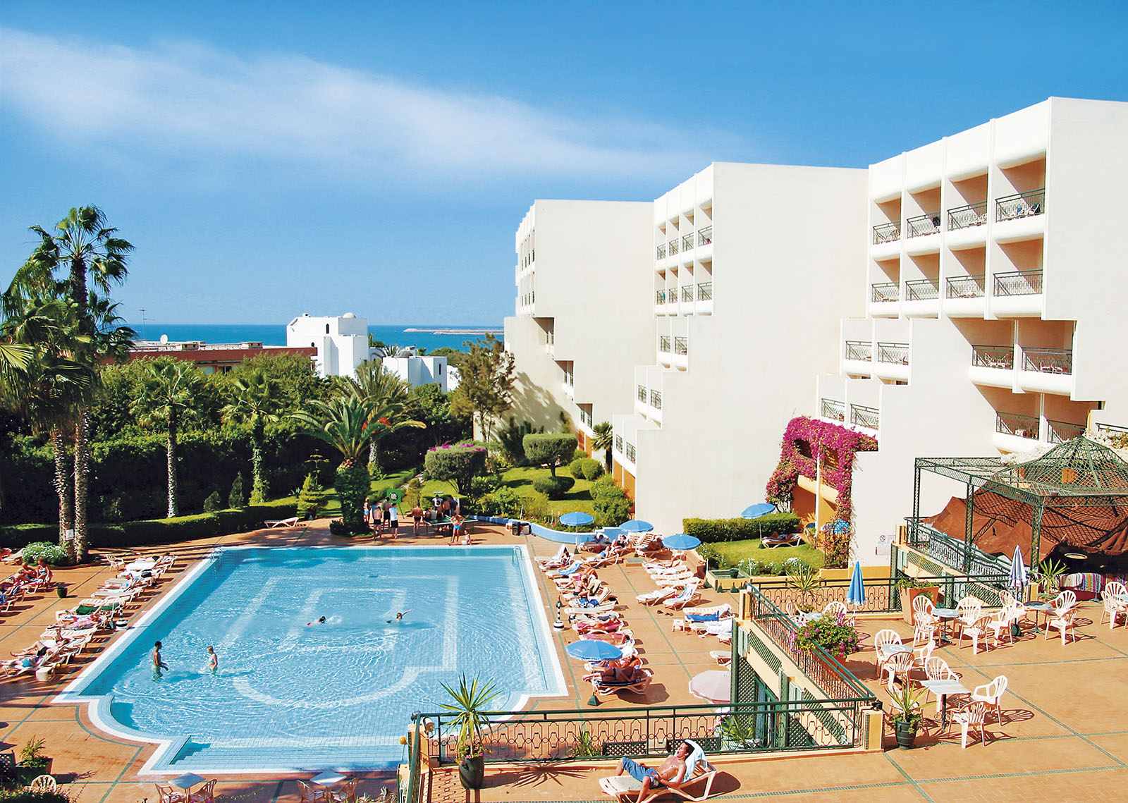 Marokkó - Agadiri üdülés 2018. Argana Hotel
