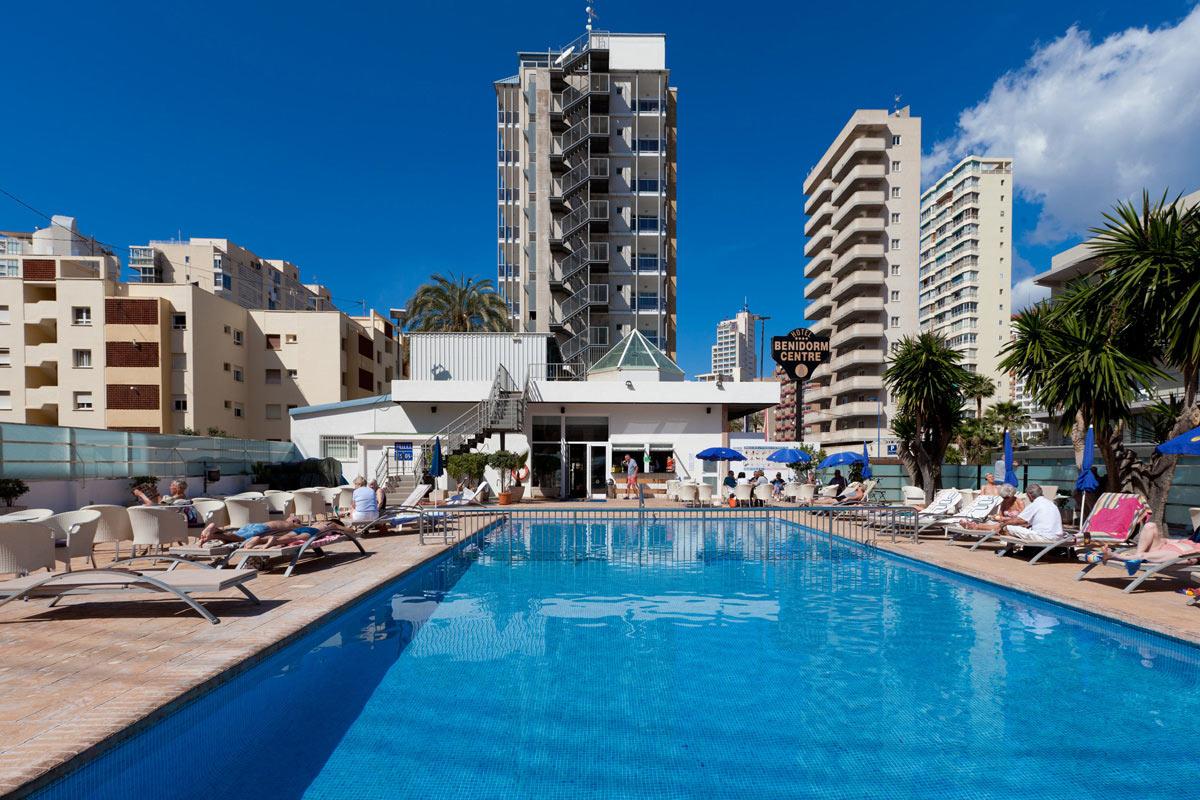 Spanyolország - Costa Blanca-i üdülés 2018. nyár Benidorm Centre Hotel