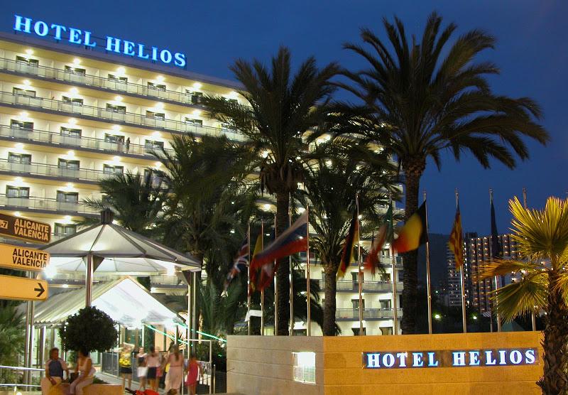 Spanyolország - Costa Blanca-i üdülés 2019. nyár Helios Hotel
