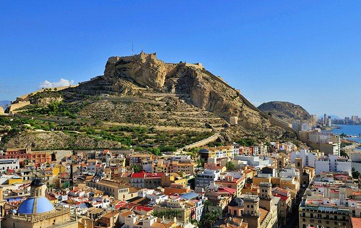 Spanyolország - Csak repülőjegy Alicante Alicante, csak repülőjegy